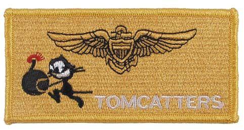 Zdjęcie: Naszywka US - VF-31 TOMMCATTERS - wersja 1