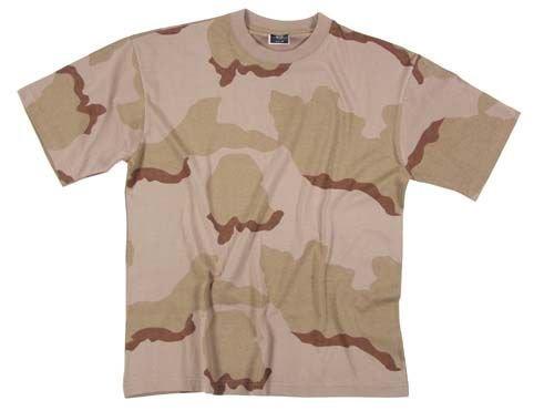 Zdjęcie: Koszulka w maskowaniu - DESERT 3c, MFH