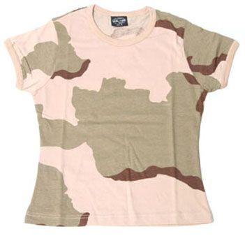 Zdjęcie: Damska koszulka w maskowaniu - DESERT 3c
