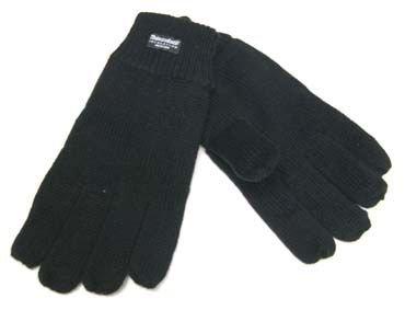 Zdjęcie: Rękawiczki zimowe THINSULATE polar - CZARNE