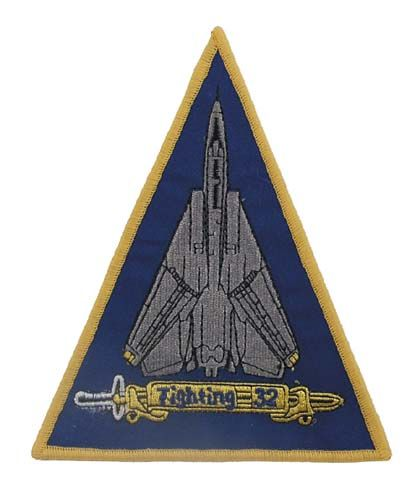 Zdjęcie: Naszywka US - VF-32 SWORDSMAN - wersja 2