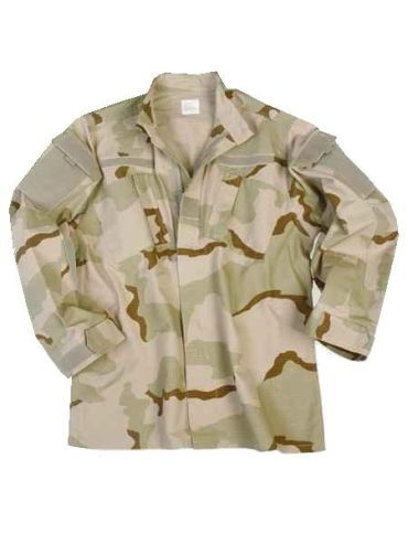 Zdjęcie: Bluza wojsk US - RIPSTOP - ACU - DESERT 3C
