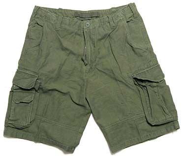 Zdjęcie: Krótkie spodnie AVIATOR - OLIWKOWE