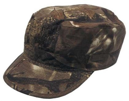 Czapka polowa US - BDU - RIPSTOP - Real Tree Camo BROWN, MFH