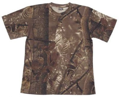 T-SHIRT Real Tree w maskowaniu Hunter Brown, MFH